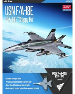 """1/72 USN F/A-18E VFA-195 """"Chippy Ho"""" (ACA12565)"""
