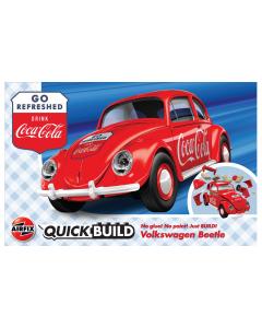 QUICKBUILD Coca-Cola VW Beetle Airfix 6048