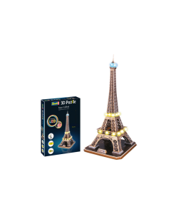 3D Puzzle Eiffeltoren 78cm 84st.  -  LED  Edition (REV00150)