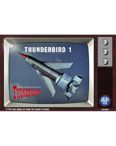 1/144 Thunderbirds: Thunderbird 1 Adventures in Plastic 10001