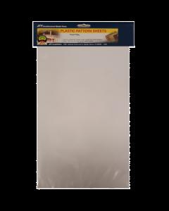 1/100 Traanplaat H0 Ruitprofiel wit, 190 x 305 mm, 2 stuks (JTT97456)