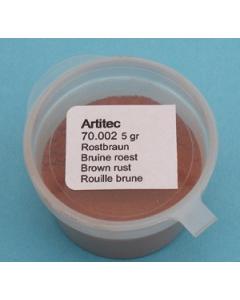 Pigment Bruine roest, 5 gram - Artitec 70.002 Artitec 70002