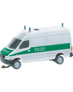 H0 Car System: MB Sprinter Politie (HERPA) Faller 161542