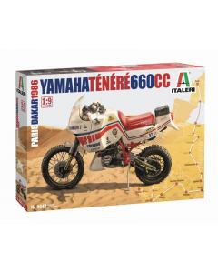 1/9 Yamaha Ténéré 660cc, Paris Dakar 1986 Italeri 4642
