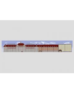 """Marklin Achtergrond """"Marklin Fabriek"""" (MAR72895)"""
